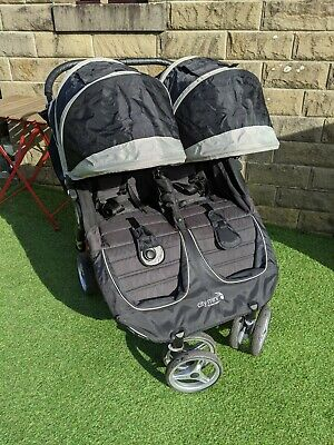Baby Jogger City Mini Double Pushchair - Black • 160£