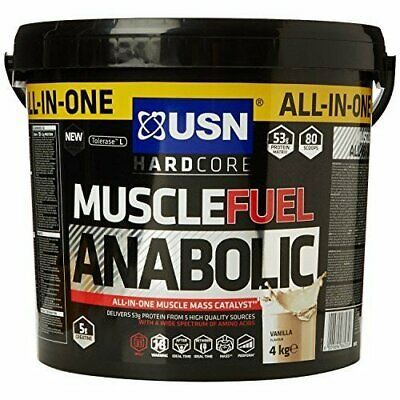 USN Muscle Fuel Anabolic All-In-One Lean Muscle 2kg And 4kg • 33.15£