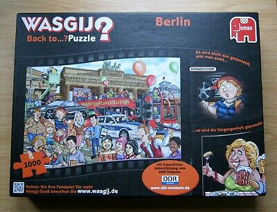 Wasgij Back To? Berlin 1000 Piece Jigsaw Puzzle DDR Museum • 12.50£