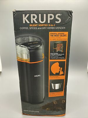 🔥KRUPS Silent Vortex Electric Grinder For Spice, Dry Herbs And Coffee  • 24.30£