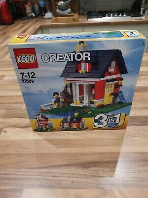 LEGO Creator Small Cottage (31009) 7-12 Years 3 In 1 Cottage Set With Box • 7.50£