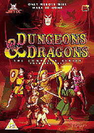 Dungeons And Dragons - Complete (DVD, 2004, Animated, Box Set) 4 Disc Set • 5.10£