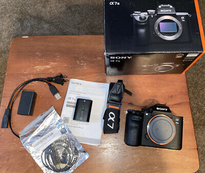 $ CDN1611.24 • Buy Sony Alpha A7 III Mirrorless Digital Camera - Body Only With HDMI Cable!!!