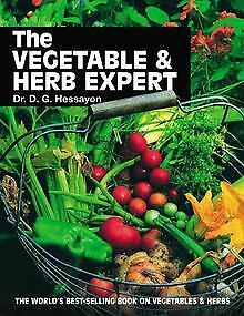 The Vegetable & Herb Expert By Hessayon, D. G. | Book | Condition Acceptable • 3£