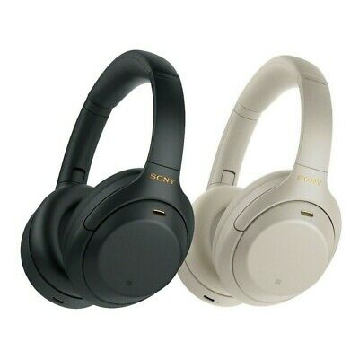 Sony WH-1000XM4 Wireless Noise Cancelling Headphones Black Silver Brand New • 229£