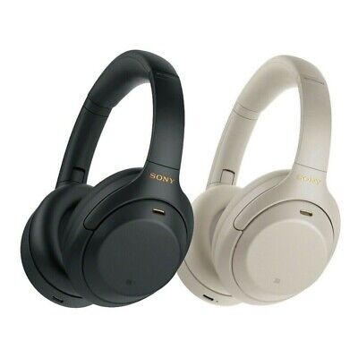 Sony WH-1000XM4 Wireless Noise Cancelling Headphones Black Silver Brand New • 259.99£