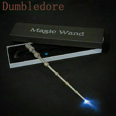 HarryPotter LED Light-up Magic Wand Hermione Dumbledore Kids Xmas Gift Surprise • 9.89£