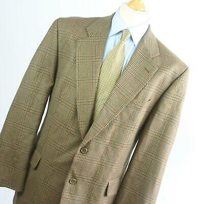 £7.50 • Buy Horne Brothers Mens Brown Check Wool Suit Jacket 44 Chest (Regular)