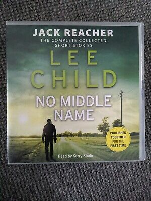 No Middle Name: The Complete Collected Jack Reacher Stories By Lee Child (CD-Au… • 2£