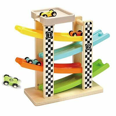 TOP BRIGHT Wooden Car Ramp Toys For 1 2 Year Old Boy Gifts, First Birthday • 23.99£