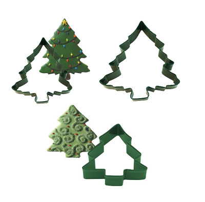 £3.28 • Buy Baking Cookie Cutters Christmas Tree Small Medium Large Biscuit Fondant