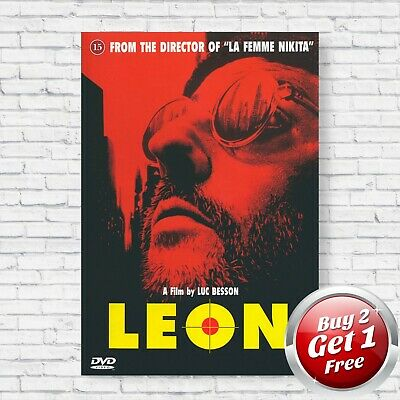 Leon The Professional Classic Movie Large Poster Art Print Gift A0 A1 A2 A3 Maxi