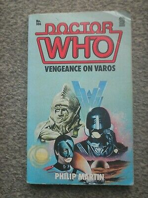 Doctor Who Book - Vengeance On Varos By Philip Martin - A Target Paperback • 0.99£
