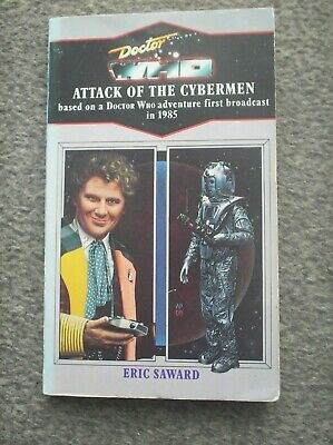 Doctor Who Book - Attack Of The Cybermen By Eric Steward - A Target Paperback • 3.20£