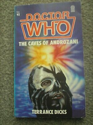 Doctor Who Book - The Caves Of Androzani By Terrance Dicks - A Target Paperback • 0.99£