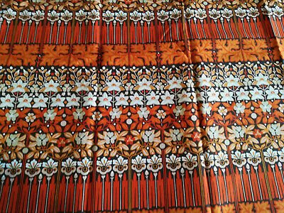 Vintage Peter Hall CANDIDA Curtains L53.5  W66  Fabric 1970s • 45£