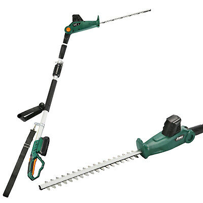 £77.50 • Buy Long Reach Cordless Hedge Trimmer Telescopic Pole Branches Cutter 2.0Ah 20V Max