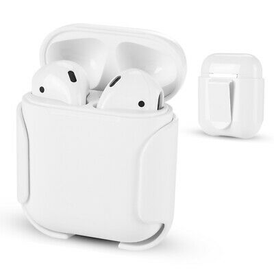 AU8.70 • Buy For Apple Airpods Accessories Hard Belt Shell Pocket Holder Case Drop