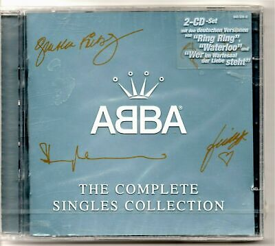 Abba The Complete Singles Collection Mint And Still Sealed From New • 34.99£