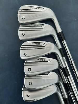 Taylormade P790 Irons.5/pw.reg Steel Shafts.mint Condition.r/hand • 675£