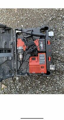 Milwaukee  M18 CPD Fuel Brushless Combi Drill Driver 4ah Battery Charger Case • 77£