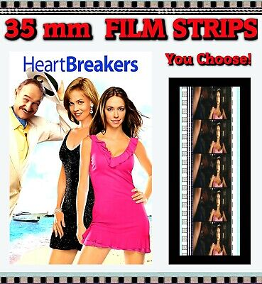 Heartbreakers - 35mm Film Cells (5 Cell Film Strips) - Choose Your Own!! • 1.87£