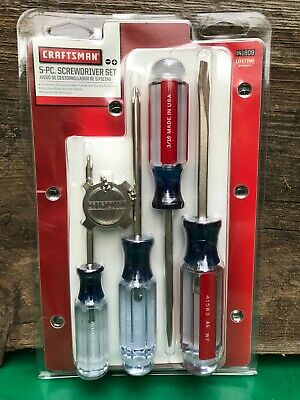 View Details Craftsman 5-PC. Screwdriver Set #941809 Made In USA. • 12.95$