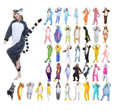 Animal Pajamas Kigurumi Cosplay Pyjama Adult Costumes Onesie18 Jumpsuit Outfit • 14.98£