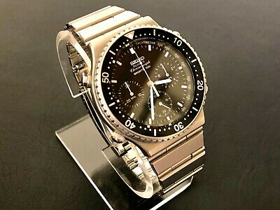 $ CDN319.13 • Buy Oct 1983 Vintage Seiko 7a28-7049 Quartz Chronograph Extremely Clean