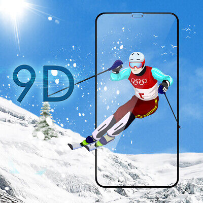 100% Gorilla Screen Protector For IPhone X XR XS 11 PRO MAX Tempered Glass Film • 4.74£