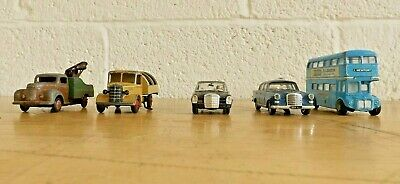 Job Lot X5 Dinky Corgi Etc. Bedford Refuse Commer Breakdown Truck (Hospiscare) • 12.50£