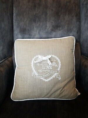 Decoration Pillow-Home Sweet Home,Shabby Chic,Vintage,Retro Style,(WY0027),NEW. • 5.99£