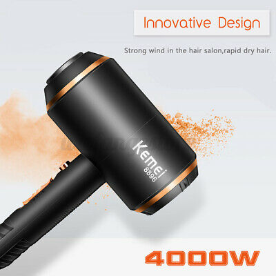 AU59.99 • Buy 4000W 5 Speed Professional Hair Dryer Household Portable Diffuser Nozzles AU