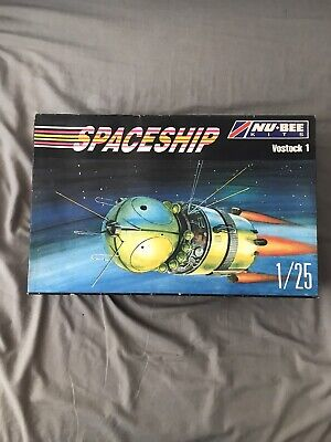 NU-BEE KITS Russian Spaceship Russia's First Spacecraft Vostok 1 1:25 Model Kit • 30£