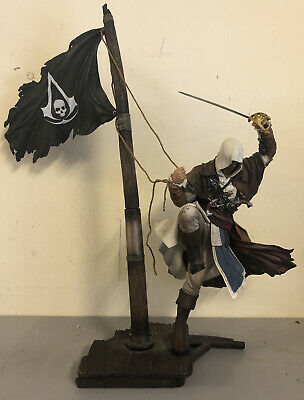 Assassins Creed Black Flag Xbox One | Limited Edition | Statue & Game ONLY • 25£