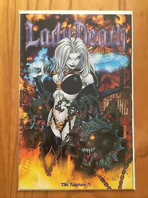 Lady Death: Rapture #1 Dynamic Forces Exclusive Alternate Cover With Df Coa • 6.50£