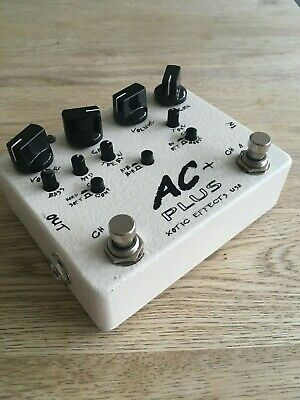 Xotic AC+ Plus Dual Channel Overdrive Booster Distortion • 70£