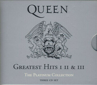 £12.80 • Buy Queen Greatest Hits I II & III (The Platinum Collection) 3CD BOX 2000