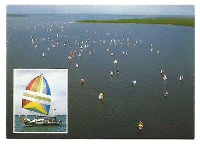 AU5.75 • Buy VIC - C1980s POSTCARD - MARLEY POINT YACHT RACE, LAKE VICTORIA, BAIRNSDALE, VIC