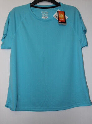 Mountain Warehouse Blue Isocool Max Top With UV Protection Size 18 New With Tags • 10.95£