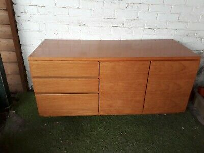 Vintage Beaver And Tapley 33 Sideboard Cupboard Unit Mid Century Teak Oak • 40£
