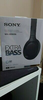 Sony Wh-xb900n Wireless Noise Cancelling Headphones Extra Bass • 64£