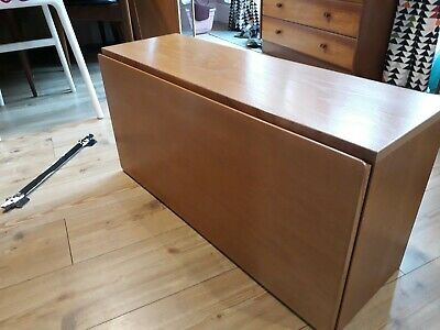 Vintage Beaver And Tapley 33 Drinks Cabinet Floating Gin Cabinet. Teak Desk Unit • 25£