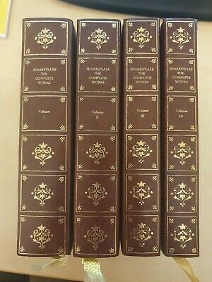 Shakespeare The Complete Works Heron 4 Books • 18£