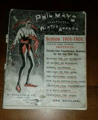 Phil May's Illustrated Winter Annual Season 1904-1905 No. 16 • 8.99£