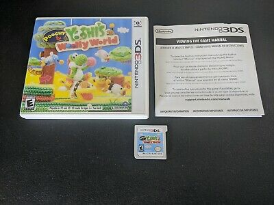 AU49.40 • Buy Poochy And Yoshi's Woolly World Nintendo 3DS NRMT Condition COMPLETE N Box