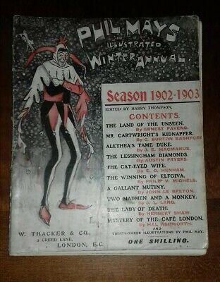 Phil May's Illustrated Winter Annual Season 1902-1903 No. 14 • 8.99£