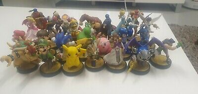 AU61 • Buy Bulk Amiibo Nintendo Lot Excellent Condition. 27 X Characters