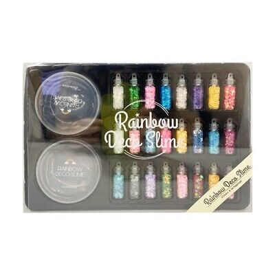 Rainbow Deco Slime Making Deco Kit Adds Glitter And More • 18.08£