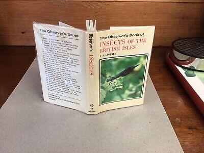 £7.99 • Buy Observers Book Of Insects 1978;